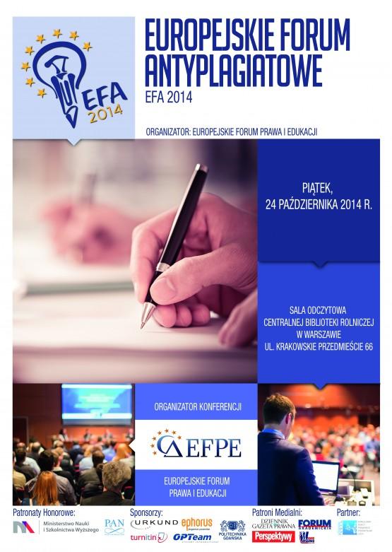 Poster EFA 2014